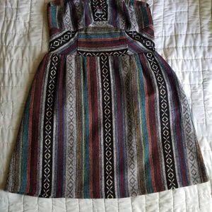 Fully lined strapless summer dress